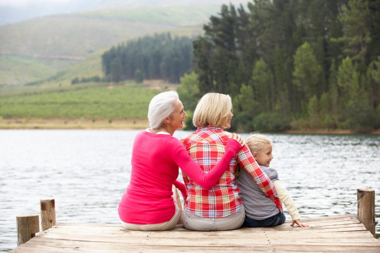 Build relationships with your grandkids' parents